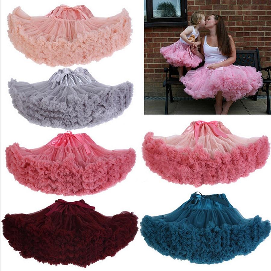 18 Colors Extra Fluffy Teenage Girl Adualt Women Pettiskirt Tutu Women Tutu  Party Birthday Dance Adult Skirt Performance Cloth-in Skirts from Women s  ... d2a8f29d534e