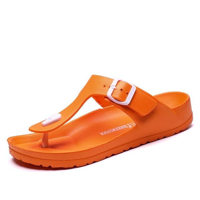2019 New Casual Herringbone Men Slippers non-slip EVA Outdoor Beach Sandals Men Shoes high Quality Cool trend Pinch Slippers Men