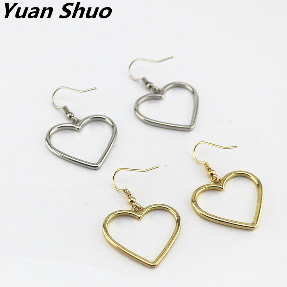 Japanese popular Hollow out golden heart in love Wos