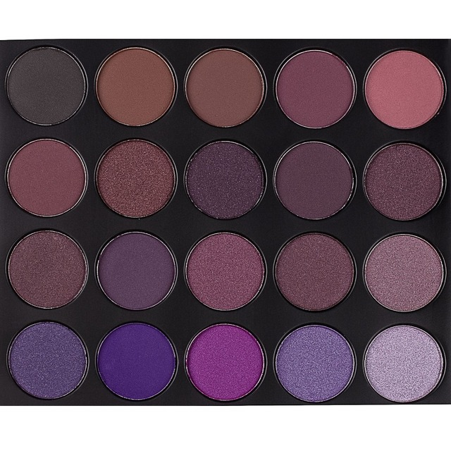 35 Color Plum Eyeshadow Palette Professional Matte Shimmer Eye shadow Cosmetics Make Up For Eyes