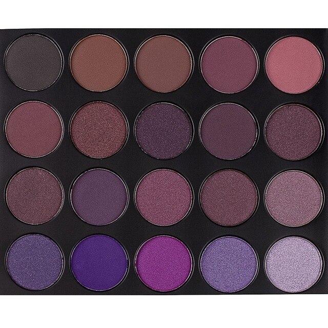 acheter 35 couleur prune palette professionnelle de fard paupi res mat shimmer. Black Bedroom Furniture Sets. Home Design Ideas