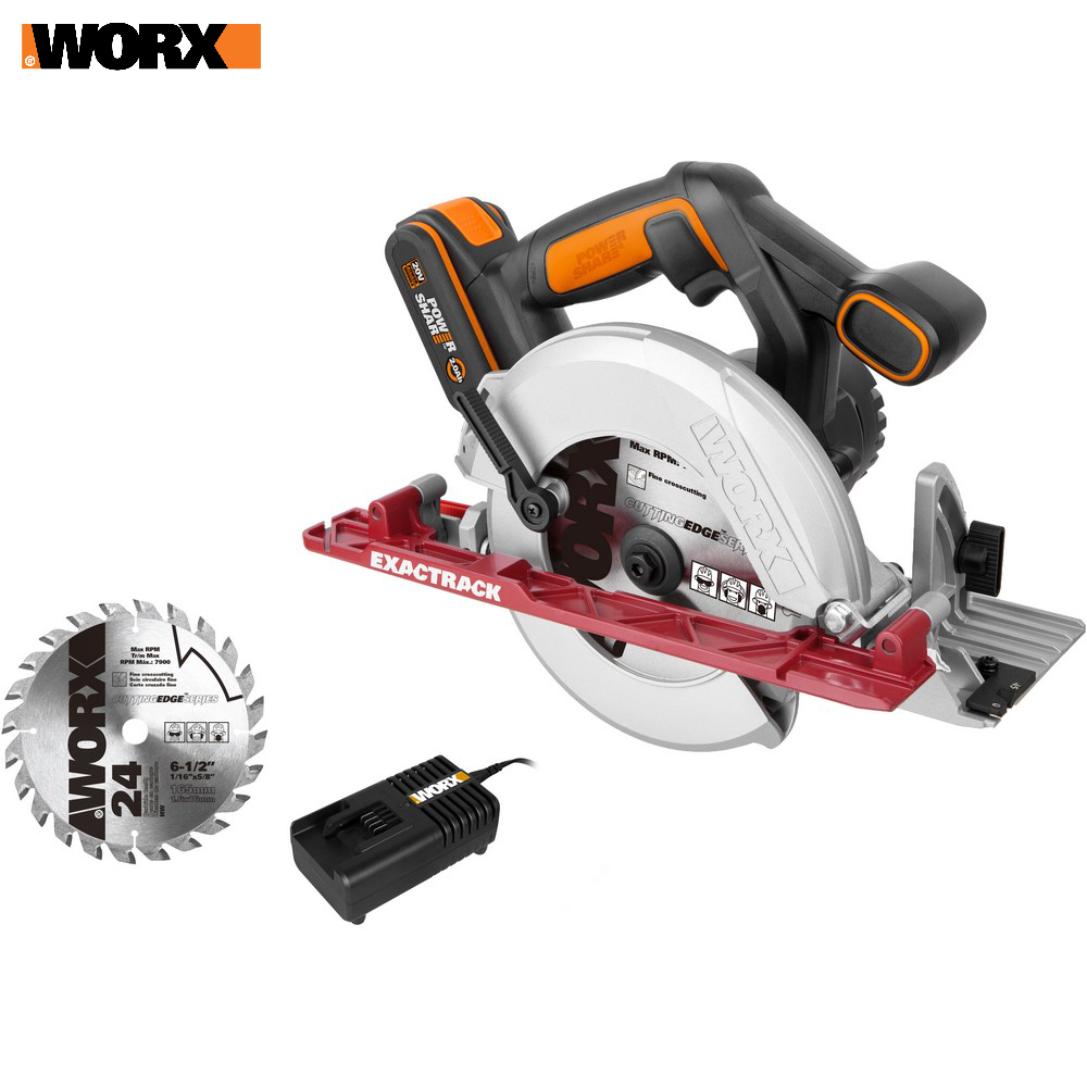 все цены на Electric Saw WORX WX530 Power tools Circular saws rechargeable