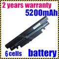 Bateria para samsung n150 n148 np-n148 np-n150 series aa-pb2vc3b jigu nt-n148 series aa-pb2vc6b/e 6 células 48wh