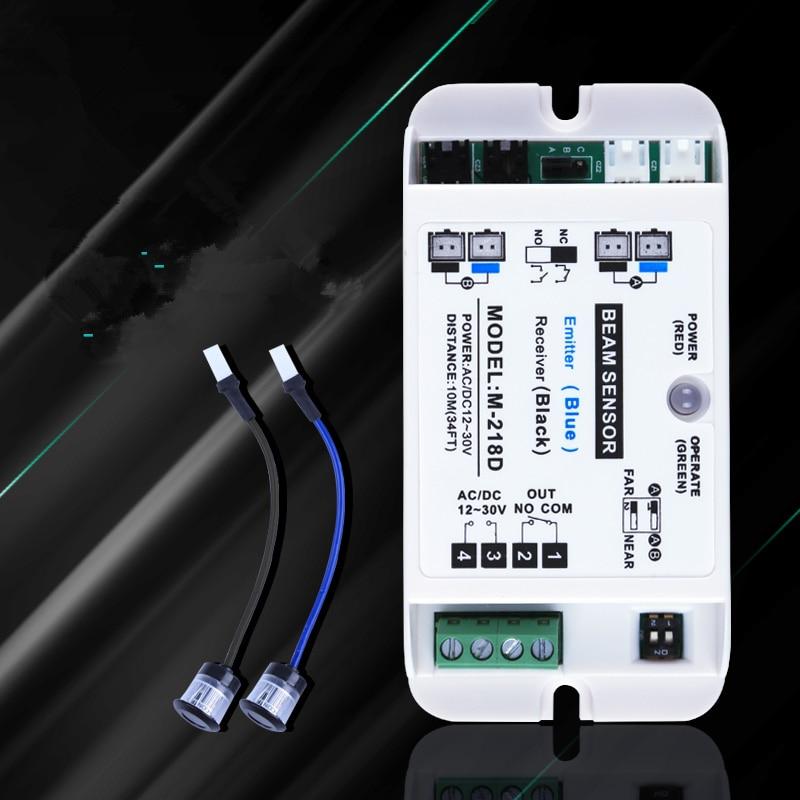 Single Beam Automatic Door Opener Safety Beam Sensor,infrared Photocells Photo Beam Sensor For Automatic Sliding Door Openers