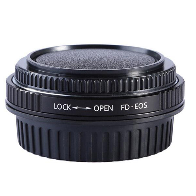For FD EOS FD CANON FD Lens Adapter Ring With Optical Glass Focus