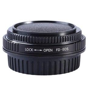 Image 1 - Per FD EOS FD CANON FD Lens Anello Adattatore Con Vetro Ottico Messa A Fuoco Allinfinito montaggio a per canon eos ef 500d 600d 5d2 6d 70d