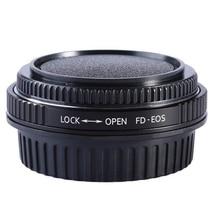Pour FD EOS FD CANON anneau adaptateur dobjectif FD avec mise au point en verre optique support infini pour canon EOS EF caméra 500d 600d 5d2 6d 70d