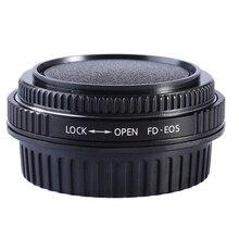 Voor FD EOS FD CANON FD Lens Adapter Ring Met Optische Glas Focus Infinity mount om voor canon eos ef camera 500d 600d 5d2 6d 70d