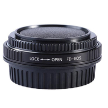 用eos FD CANON fdレンズアダプターリングで光学ガラスフォーカス無限大をマウントするためのcanon eos efカメラ500d 600d 5d2 6d 70d