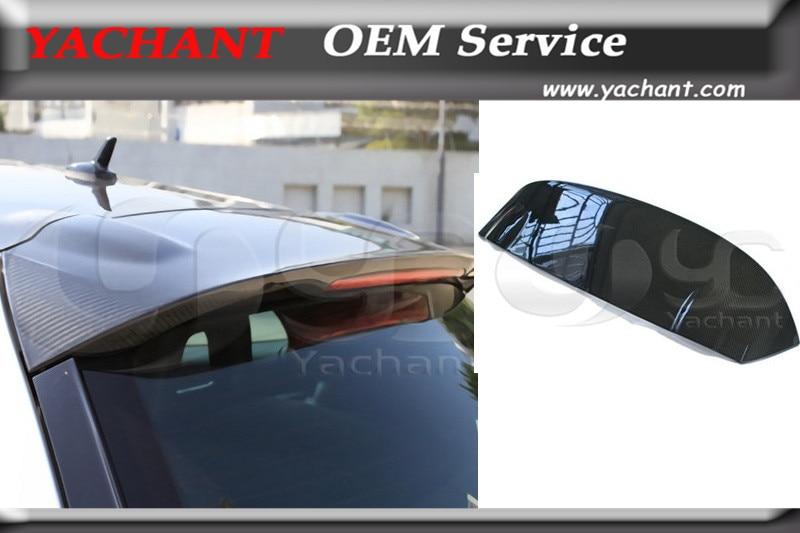 Автомобильный Стайлинг углеродного волокна задний спойлер подходит для 2008 2012 Scirocco OEM стиль задний спойлер крыло