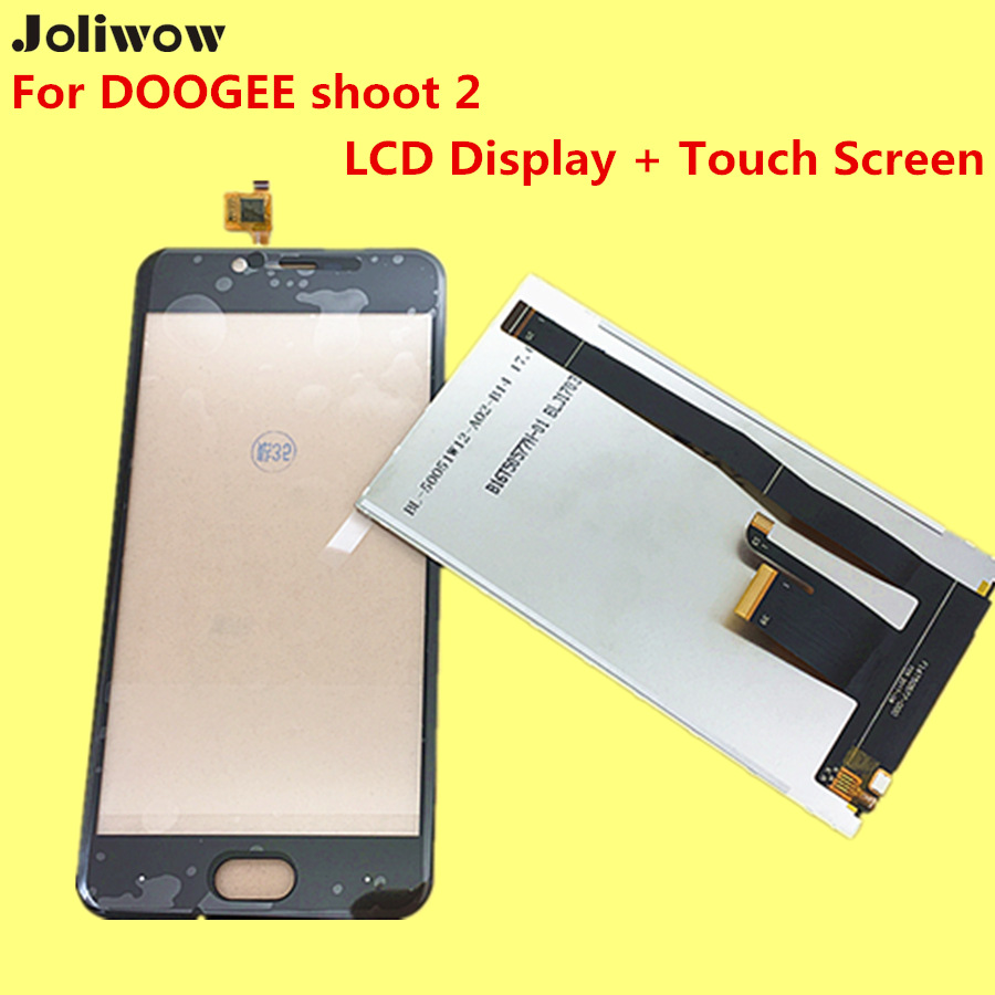 For DOOGEE shoot2 LCD Display and Touch Screen Tools Digitizer Assembly Replacement Accessories For DOOGEE shoot