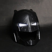 Jenis LED!!! 600G FRP Lapis Baja Batman Mech Helm Batman V Superman: Dawn Of Justice Alat Peraga Cosplay Masker Kostum Aksesoris(China)
