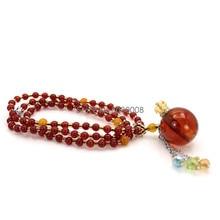 1 мл в китайском национальном стиле Янтарный духи Эфирные масла бутылка ожерелье