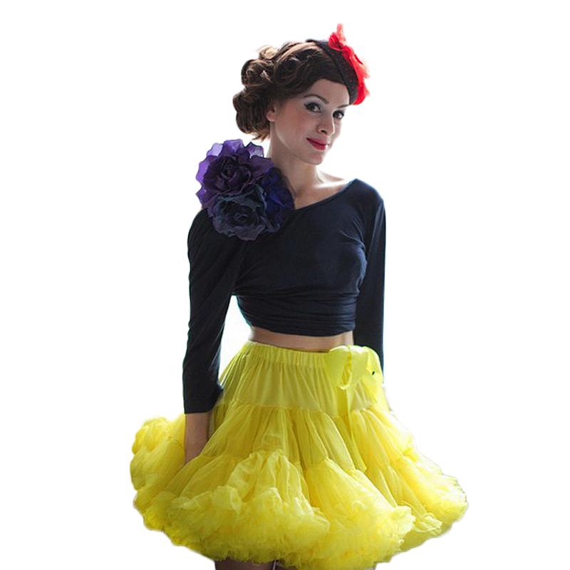 Pettiskirt Tutu Skirt Petticoat Adult one size Baby XS XXL Women Ball Gown Teenage Girl Party Dance Fluffy Ruffle 3 Layers in Skirts from Women 39 s Clothing