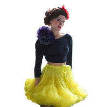 Buenos Ninos Extra Fluffy Adualt Women Pettiskirt Tutu Teenage Girl Party Dance Tutu Skirt buenos ninos красная роза s