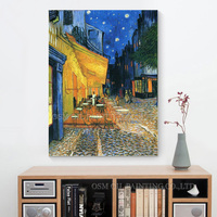Professional Artist Reproduction two versions High Quality The Night Cafe Oil Painting Van Gogh Canvas Art Oil Painting
