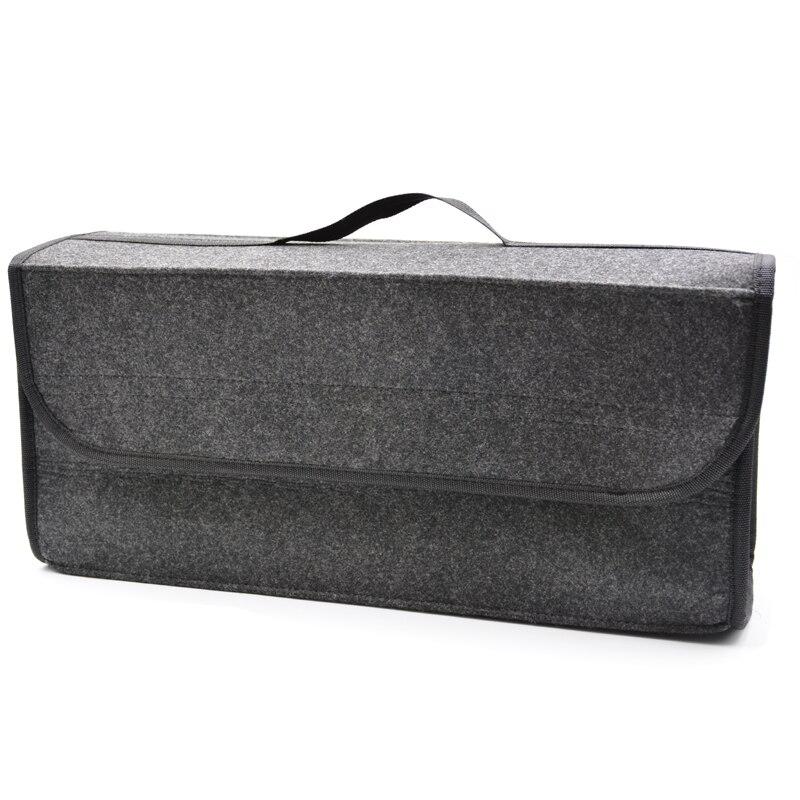 Car Felt Storage Box Trunk Bag Vehicle Tool Box Multi-use Tools Organizer Bag Carpet Folding Automobiles Back <font><b>Seat</b></font> Organizer