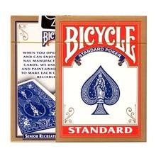 Fahrrad-Reiter-Rückseite Spielkarten Poker-Farbe Gelegentliche Texas Holdem Plastikkarten Wasserdichte und stumpfe Pokerstern Brettspiele