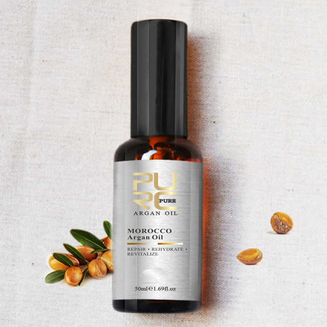 Moroccan  Argan Oil  for Repairs hair damage Moisture for after keratin treatment hair treatment free shipping