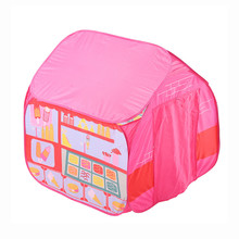 Kids Play Tent Foldable Portable Girl Princess Castle Indoor Outdoor Play Tents Playhouse For Children Best Gifts 5.27 недорого