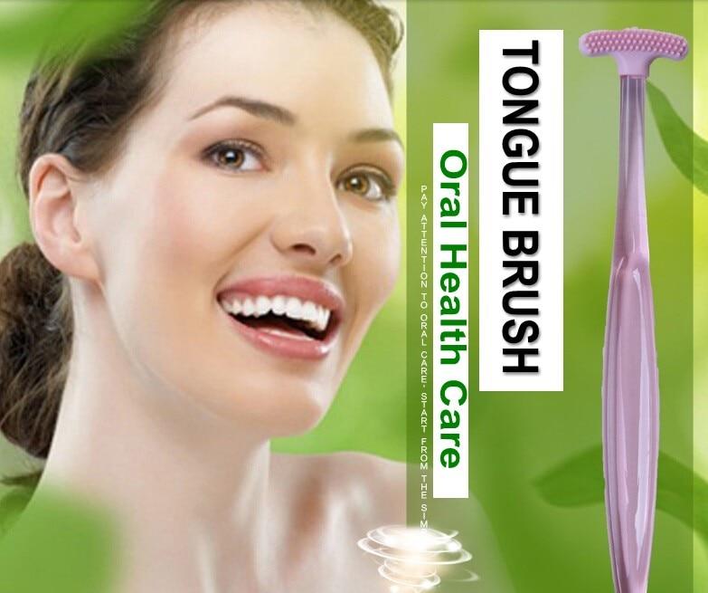 2 шт., двухсторонний очиститель для языка, мягкий TPR, широкая кисть для языка для взрослых, для удаления плохого дыхания, гигиены полости рта