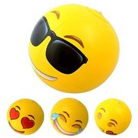 1 Set Funny Emoji Craft Sports Entertainment Cheer Leading Inflatable Souvenirs Promotional Gift Toy For Kids