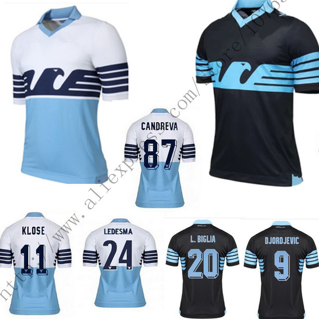 2015 new Lazio jersey 15 16 Lazio home football shirt Klose Candreva  Cavanda jersey Lazio Football uniforms f361767f5