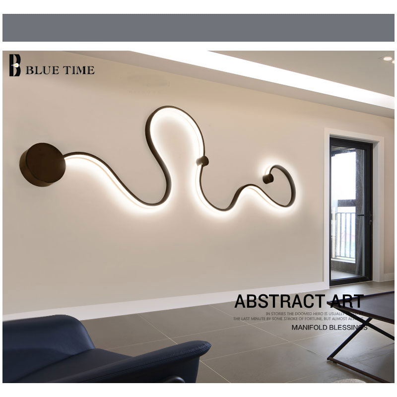 ФОТО 120cm Home decoration living room modern chandelier Simple Creative vintage personality brief led ceiling chandelier for bedroom