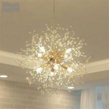 Modern K9 Crystal Chandelier G9 LED Dandelion Lights Lustre spider living Room Indoor Decorative Ceiling Lamp Tree Lampshade