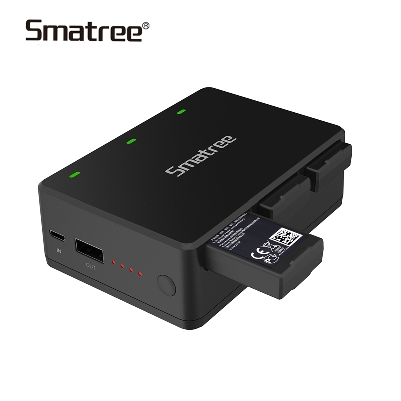 Smatree Battery Charger for DJI Tello Quadcop Portable Battery Charging Station,charge 3 batteries Fast Charging