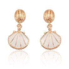 Trendy Vintage Shell Earrings For Women Charm Jewelry Beach Boho Earring Ocean Wind