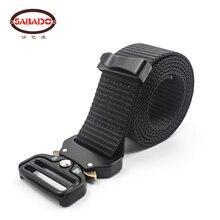 Outdoor Hunting Accessories Metal Buckle Adjustable Heavy Duty Waist Belt Nylon military Combat tactical belts