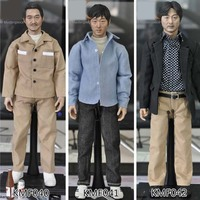 Collection Toys KMF040 KMF041 KMF042 1/6th Korean Super Star 12inch Whole boxed Action Figures