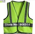 Free Shipping 20pcs/lot EU standard  high visibility kid traffic vest student / child reflective safety vest