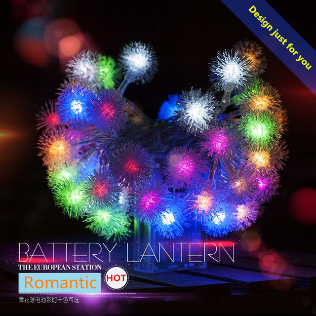 Model Of Christmas Lights Outdoor 0 5W DC AA Dry Battery 1 5m 50 LED String For Your Plan - Modern lumiere lighting Model