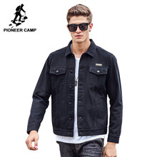 Pioneer camp männer jacke 100% baumwolle 2017 neue mantel mode graben berühmte marke casual fit werkzeug fracht jacke 611309