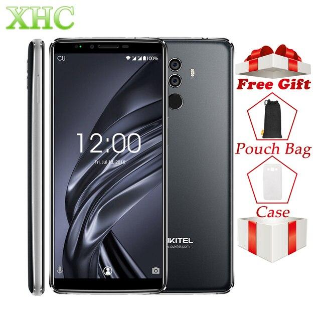 Oukitel K8 6,0 ''18:9 FHD + мобильных телефонов 4G B Оперативная память 6 4G B Встроенная память mt6750t восемь ядер Android 8,0 13MP + 5MP 4G Dual SIM смартфон с отпечатками ...