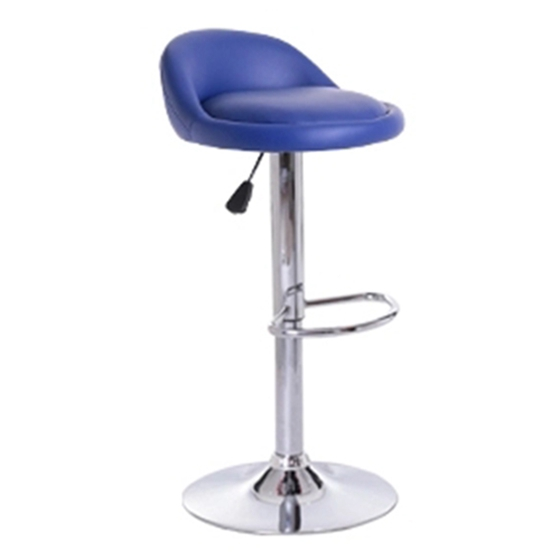 COMF NEW 2 * cream breakfast bar stools faux leather bar stools kitchen stool new chairs color: blue цены