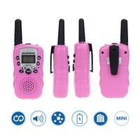 woki טוקי baofeng 2 יח Baofeng BF-T3 מכשיר הקשר מיני נייד ילדים צעצוע שני הדרך רדיו UHF 462-467MHz 8 ערוץ כף יד Woki טוקי (2)