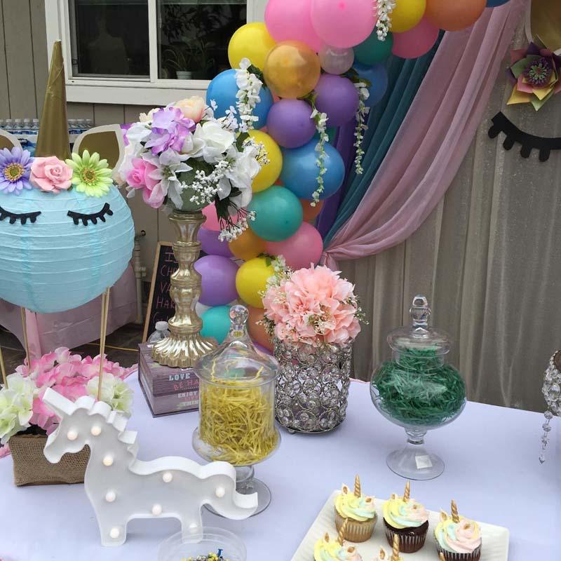 Cloud Unicorn Light For Kid Boy Girl First Birthday Party