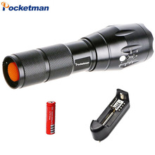 Lanterna Flashlight CREE XM-T6 3800lm LED Torch Zoomable Linternas LED Flashlight Tactical flashlight For 3xAAA or 1×18650