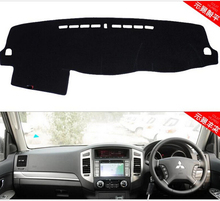 Dashmats car-styling accessories dashboard cover for Mitsubishi Pajero V75 V77 V73 V97 V93 sport Montero Shogun RHD