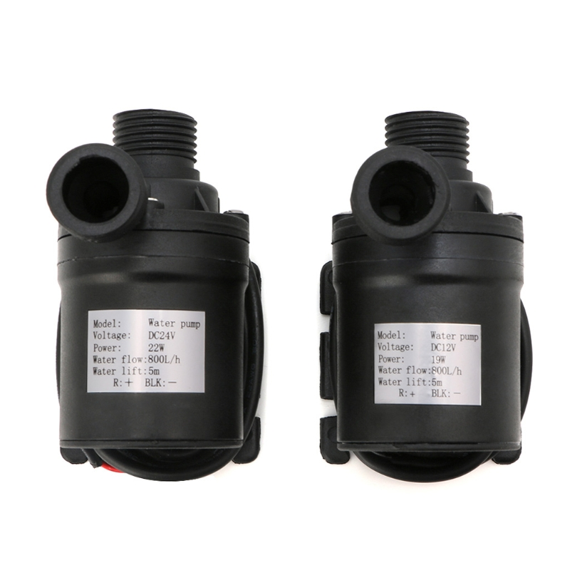 800L/H 5m DC 12V 24V Solar Brushless Motor Water Circulation Water Pump Submersibles Water Pumps Drop Ship