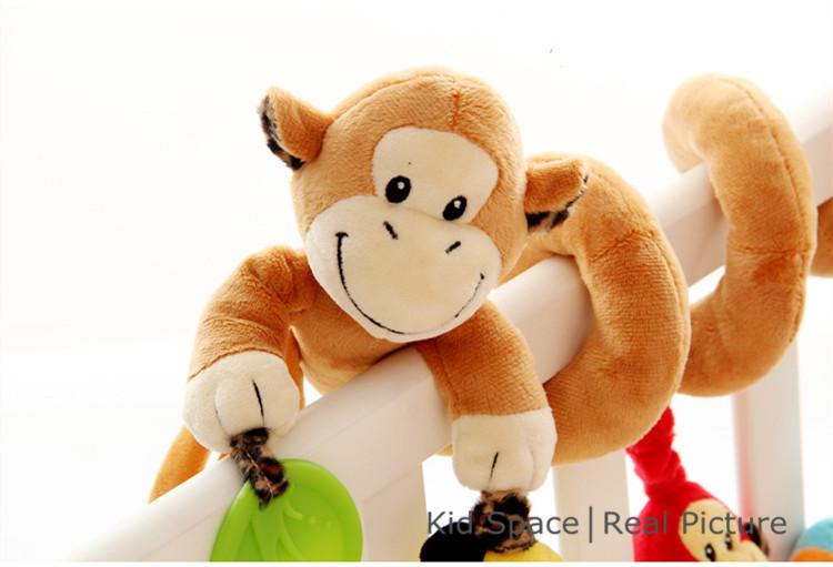 Newborn Baby Toys 0-12 Months Stuffed Stroller Toys