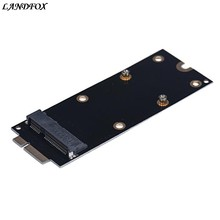 Top Quality mSATA Adapter As SSD For MacBook Pro Retina 2012 IMAC A1398 MC975 MC976 Black Drop shipping(China)