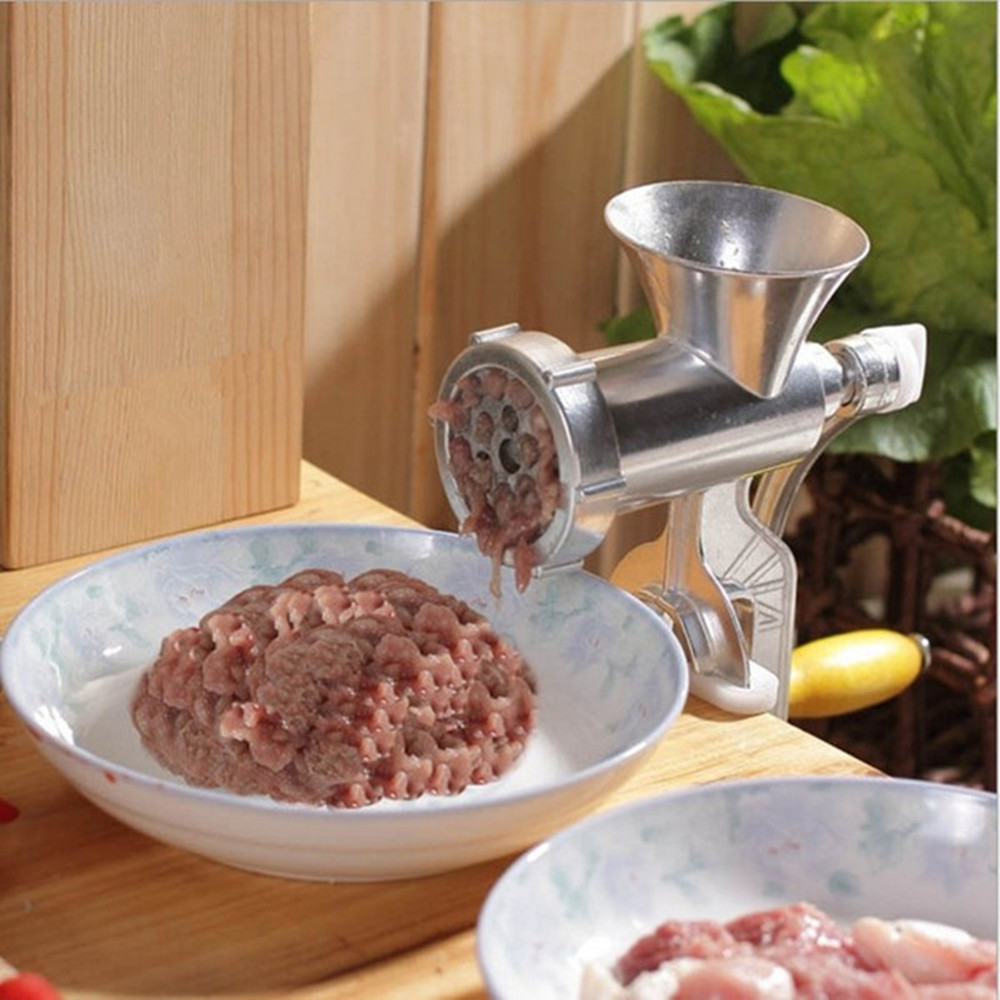 Hand operated meat grinder beef noodle sausages maker household manual meat grinding machine hand operated meat grinder beef noodle sausages maker household manual meat grinding machine