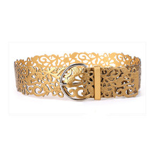 Spring ultra wide womet fashion all-match fashion cutout belt decoration wide strapn's fashion wide bel