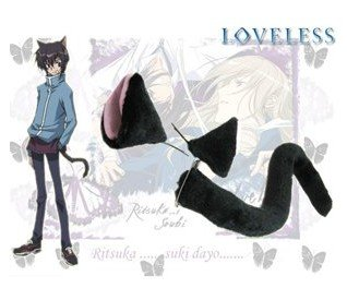 Detail Feedback Questions About Loveless Anime Black Cat Ears And