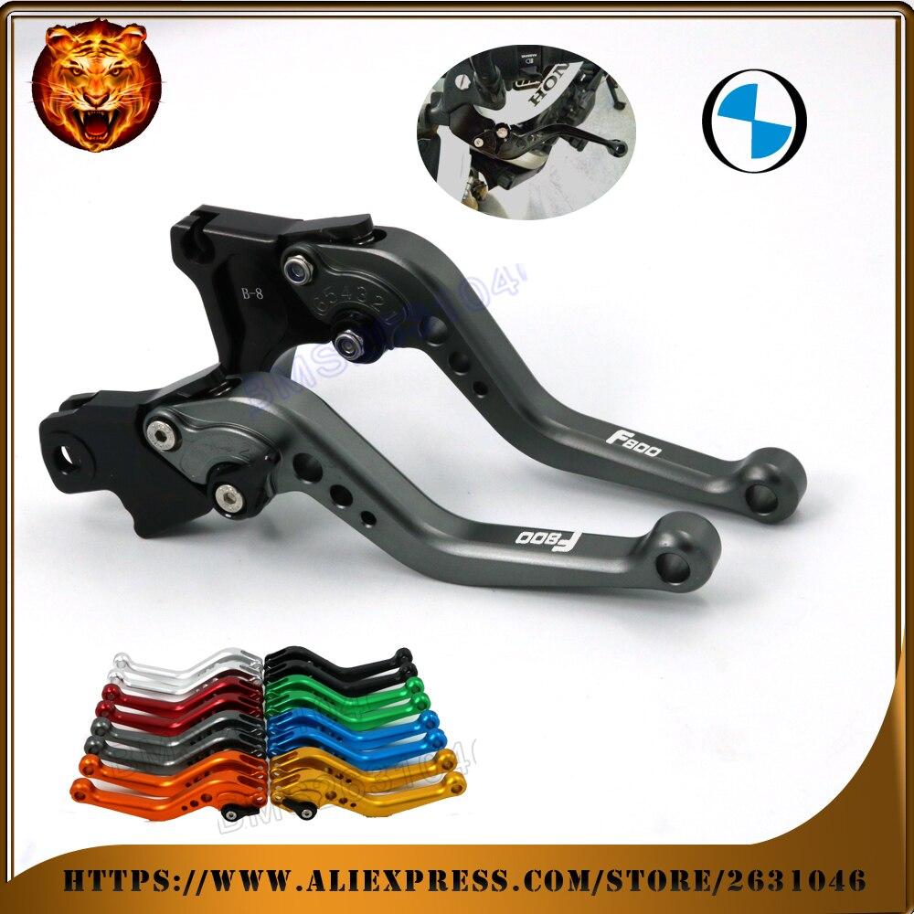 For BMW F800 F800GS F800R F800GT F800ST F800S GRAY RED BLACK GOLD  MOTO MOTOBIKE Motorcycle Adjustable Brake Clutch Levers gray adjustable billet short folding brake clutch levers for bmw f 650 700 800 gs f650gs f700gs f850gs 08 15 09 10 f 800 r s st 06 15