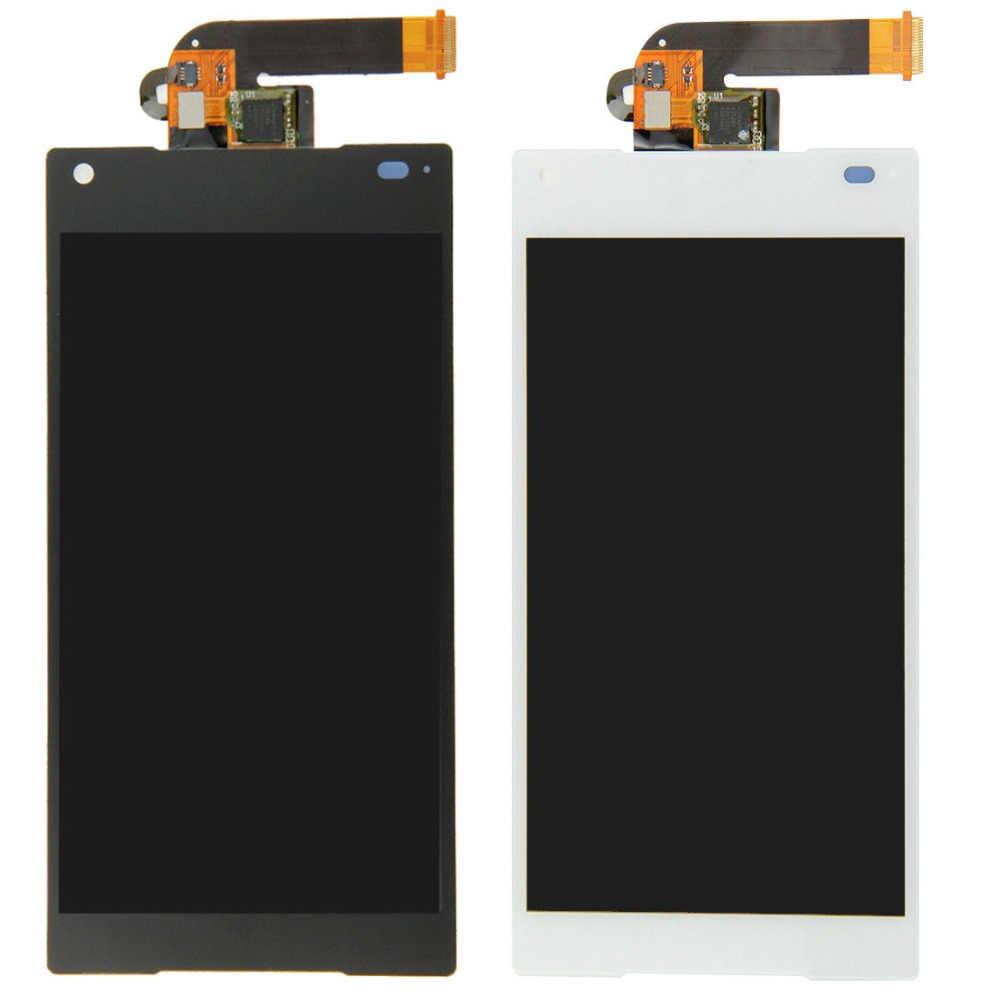 Для sony Xperia Z5 Compact Z5 mini E5823 полный сенсорный экран дигитайзер сенсор стекло + ЖК-дисплей монитор панель модуль в сборе